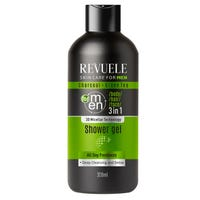 Revuele Charcoal and Green Tea Shower Gel 300ml