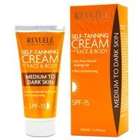 Revuele Self-Tanning Cream Medium to Dark 200ml
