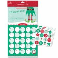 Elf Reward Chart and Stickers