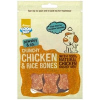 Good Boy Crunchy Chicken and Rice Bones 100g