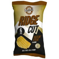 Seabrook Ridge Cut Crisps Steak 6 Pack