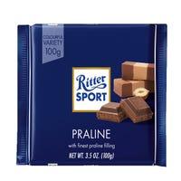 Ritter Finest Praline Filling in Milk Chocolate 100g