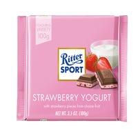 Ritter Strawberry Yoghurt in Milk Chocolate 100g