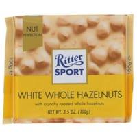 Ritter Sport 100g White Whole Hazelnuts