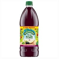 Robinsons No Added Sugar Apple and Blackcurrant 2L