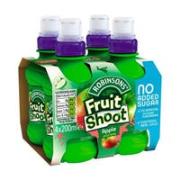 Robinsons Fruit Shoot Apple 200ml 4 Pack