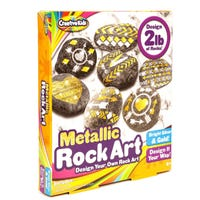 Design Your Own Metallic Rock Art