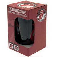 The Rolling Stones Logo Coloured Glass
