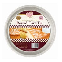 Traditional Round Cake Tin 18cm