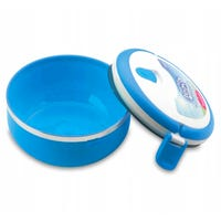 Round Lunch Box in Blue
