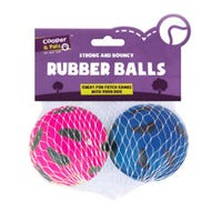 Rubber Balls 2 Pack
