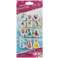 Princess 12 Pack Mini Erasers