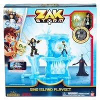 Zak Storm Sino Island Playset