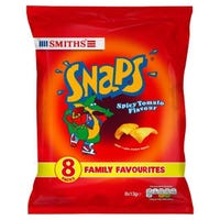 Smiths Snaps Spicy Tomato 8 Pack