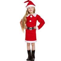 Santa Dress Up Suit Girls 10-12 Years