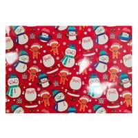 Christmas Santa and Friends Landscape Giant Gift Bag