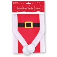Table Runner Santa Belt