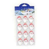 Christmas Card Holder Santa 12 Pack