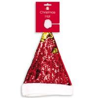 Christmas Reversible Sequin Hat