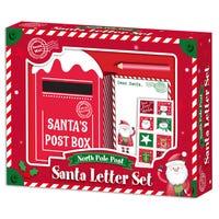 North Pole Post Santa Letter Set