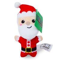Christmas Mini Plush Santa Figure 10cm