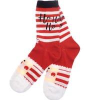 Ladies Christmas Socks Santa 1 Pair