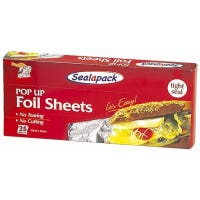 Sealapack Pop Up Foil Sheets 20