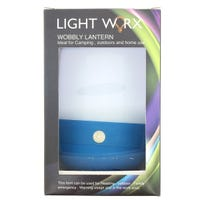 Wobbly Lantern Ideal For Camping, Outdoor & Home Use