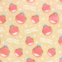 Christmas Gift Wrap Cute Robin 10m