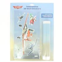 Planes 3D Interactive Sticker