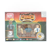 Block Tech Figures Dino Island 3 pack