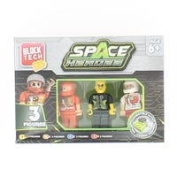 Block Tech Figures Space Heroes 3 pack