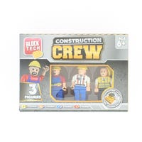 Block Tech Figures Construction Crew 3 pack