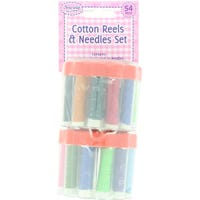 Cotton Tubs with Needles 2 Pack