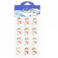Christmas Card Holder Snowman 12 Pack