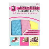 Microfibre Cloths 3 Pack