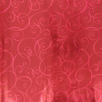 Traditional Foil  Holographic Gift Wrap Red 3m