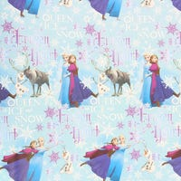 Christmas Gift Wrap Disney Frozen 6m