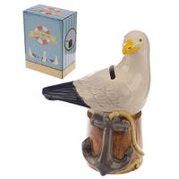 Ceramic Seagull Money Box