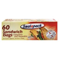 SealAPack 60 Sandwich Bags