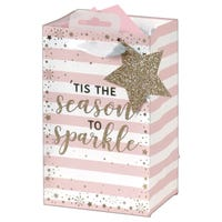 Christmas Tis The Season To Sparkle Perfume Gift Bag