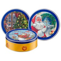 Season's Greetings Danish Biscuit Selection Tin Assorted 454g