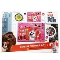 Secret Lift Of Pets Sequin Craft Hard Cure Cute