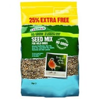 Gardman No Grow Seed Mix 2.5kg