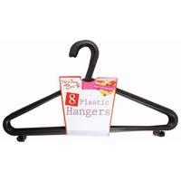 8 Pack Plastic Hangers