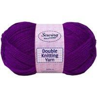 Double Knitting Yarn Purple 240m