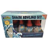 Toy Mania Shark Bowling Set