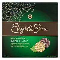 Elizabeth Shaw Dark Mint Crisp 150g