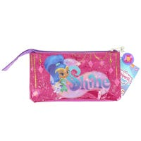 Shimmer and Shine 3 Pocket Pencil Case (Clear PVC)