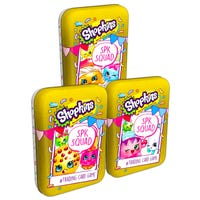Shopkins Squad Trading Cards in Mini Tin Assorted